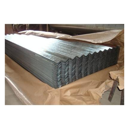 tôle de toiture ondulée galvanisée (DX51D/ASTM A653)